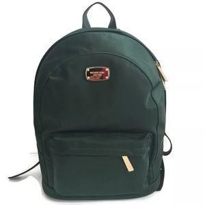 NWT Michael Michael kors green backpack jet set